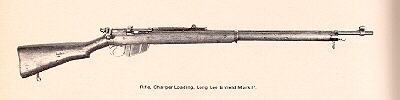Rifle, Charger Loading, Long Lee Enfield mk1